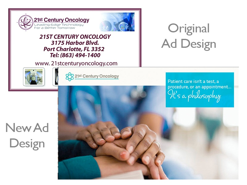 Yellow Page Directory Services Redesign re-design advertisements ad design ads