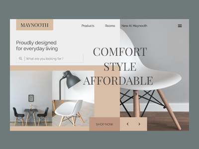 Maynooth Furniture uiuxdesign webdesign ui ux