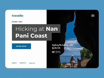Travello uiuxdesign webdesign ui ux