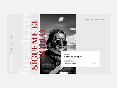 Outlander uiuxdesign webdesign design