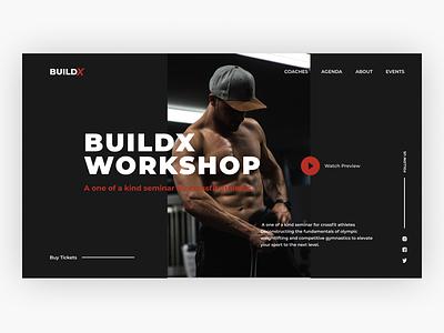BuildX uiuxdesign webdesign ui ux