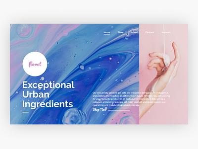 floret : Website UI Concept uiuxdesign webdesign ui ux