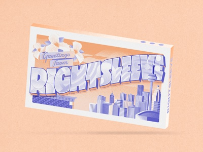 RxS Chocolatebar canada toronto mockup promotionalproduct chocolatebar graphicdesign postcard