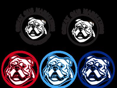 Great Gus Final Logo web vector icon branding illustrator illustration typography minimal flat design