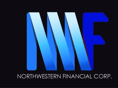 NorthWestern Financial   Sample Logo branding minimal vector logo illustrator typography design flat custom logo design custom logotype