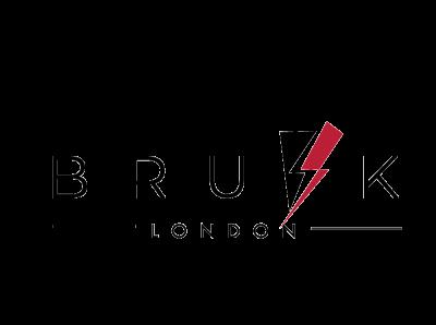 """Brusk"" concept logo 1 vector logo illustrator typography minimal flat design"
