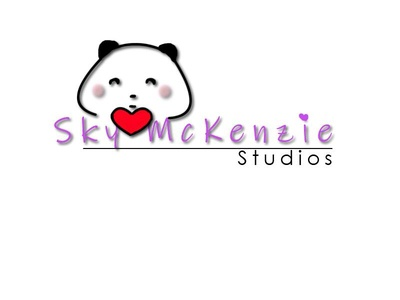 Sky McKenzie Studios Logo digital illustration icon vector illustrator logo illustration minimal flat design