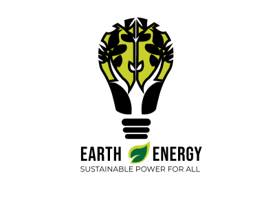 Earth Energy Concept Logo digital illustration icon vector illustrator logo illustration flat design