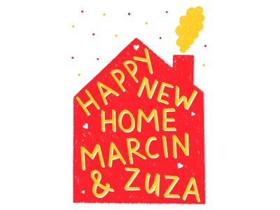 Happy New Home - Greeting Card Design