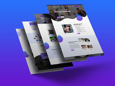 Corporate Business Web UI Design branding design one line art bestdesigner illustration bestuiuxdesigner bestgraphicdesigner bestgraph mdhasinuzzaman graphic design
