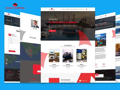 UI/UX Design for my client shipwebui exportwebui importwebui bestwebui webui webuidesign importexportwebsite shippingwebsite uiuxdesigner bestuiuxdesigner uiux ux ui
