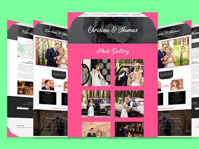 Wedding website template best web ui template bestuxdesign bestuidesign bestdesign bestdesigner uiuxdesign photoshopeuidesign uidesigntemplate uxdesigner uidesigner wedding website template eventplannerwebsite fullwebsite uidesign uiux