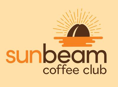 Sunbeam Coffee Club Logo food and drink logo food and drink coffee logo coffee vector design logodesign logo branding