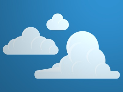Clouds Make Shapes cloud vectors clouds cloud illustration illustrator vectors cloud graphics make shapes from clouds make shapes