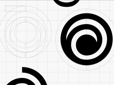 Uncover Discovery Logo Design Progress - Wireframe