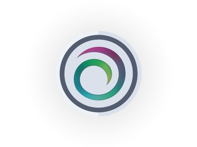 Energy Swirl Icon Freebie