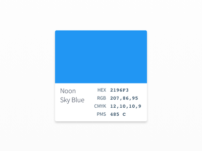 Color Palette UI/UX ux ui design color palette facebook ios material