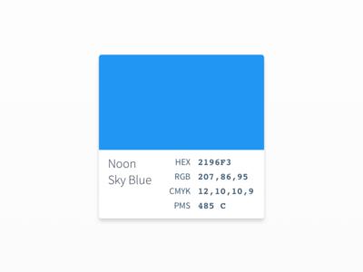 Color Palette UI/UX