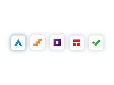 Widen App Icon Family