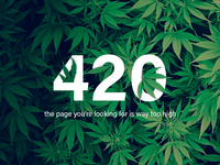 420 page not found