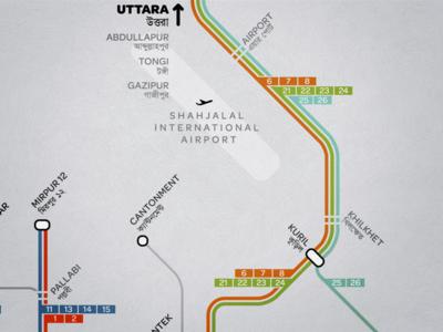 First Bus Map of Dhaka urban launchpad public transit map transportation dhaka urban planning bangladesh