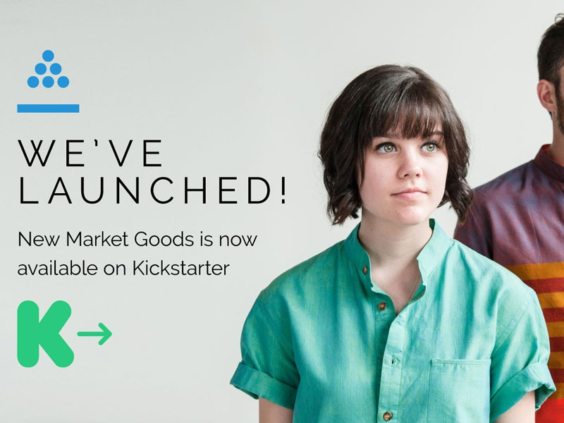We've Launched! kickstarter launch fashion style brand shirt