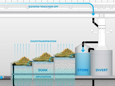 Stormwater Management Green infrastructure  urban planning environment flow diagram infrastructure urban design urban environmental
