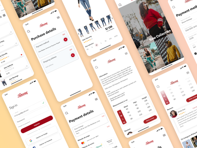 Ecommerce - Fisherman finance branding typography ecommerce design app illustration design app ux ui