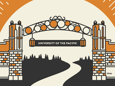 UOP Poster uop poster illustration