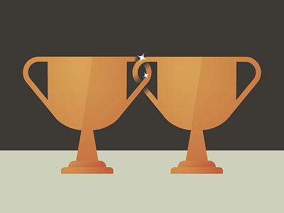 Win-Win win-win trophy