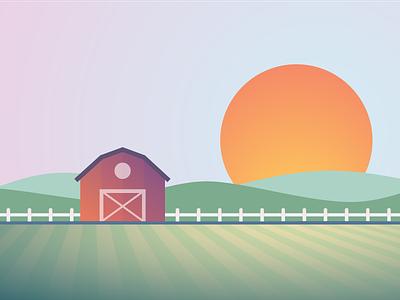 Farm barn farm