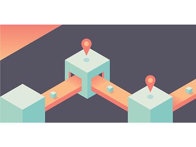 Supply Chain isometric