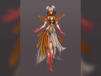 Shaman character concept character design character game character game design game art game
