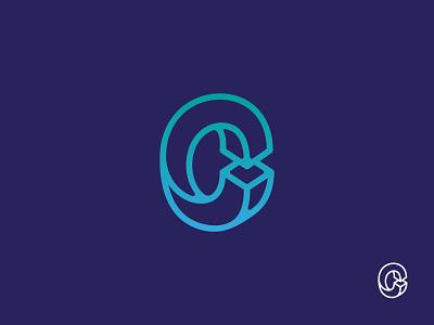 Construction C branding identity mark logo