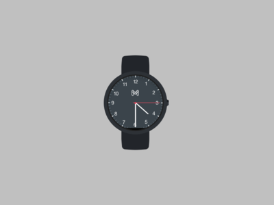 Android wear custom watch face