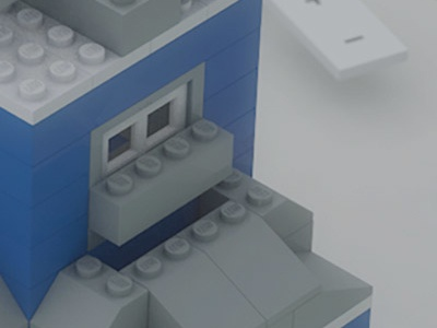 Saturation 4 web app 3d lego