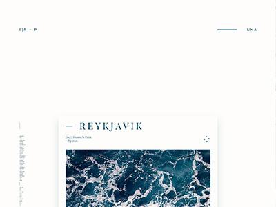 Reykjavik print