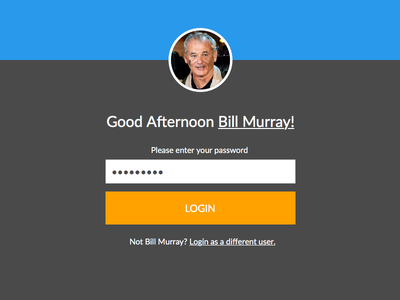 Good Afternoon Bill Murray!