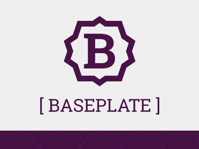 Baseplate open source site design logo