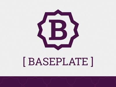Baseplate open source site design logo