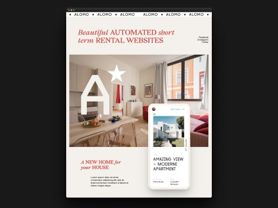 Automated direct booking sites mobile web ux ui automated airbnb realestate rentals