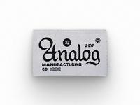 Analog Tag