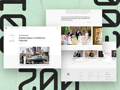 Gentux Blog branding web post website menswear fashion wedding ux ui blog