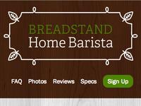 Breadstand Home Barista
