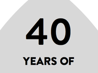 40 years of