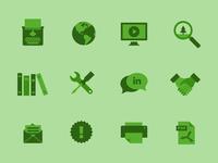 Greenline iconography