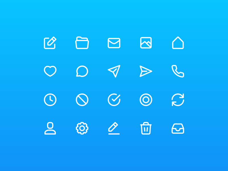 HOMS Icons icon set social network network house home iconset bundle icons app
