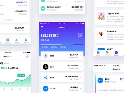 Cobo Wallet v2.0 bitcoin eth blockchain finance mobile wallet cobo ios
