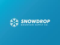 Snowdrop - Ski Mountain Logo - DLC:02