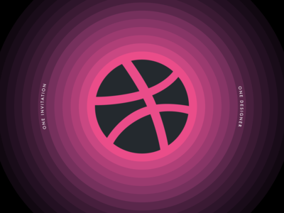 1 Dribbble Invitation!
